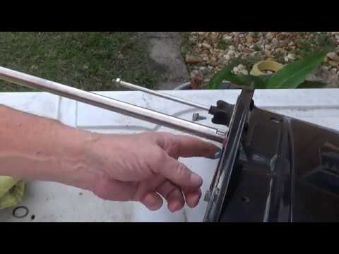 how to replace water pump in 50 hp MERCURY OUTBOARD