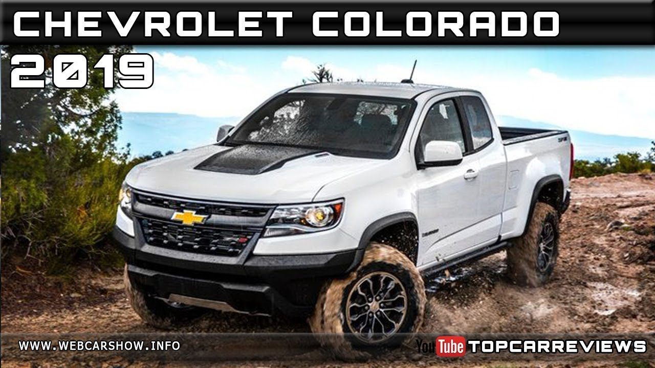 2019 CHEVROLET COLORADO Review Rendered Price Specs Release Date