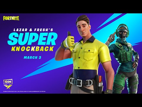 How To Get The LAZARBEAM Skin For FREE In Fortnite! (Lazar & Fresh's Super Knockback Cup Details)