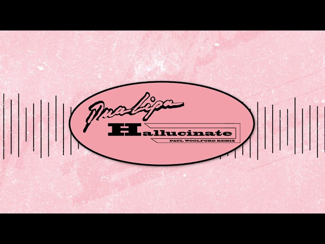 Dua Lipa - Hallucinate (Paul Woolford Remix)