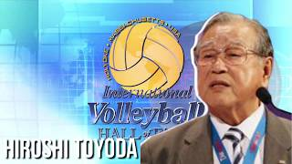 Hiroshi Toyoda - 2018 International Volleyball Hall of Fame Induction Intro