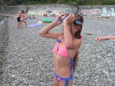 Я купаюсь в Черном море