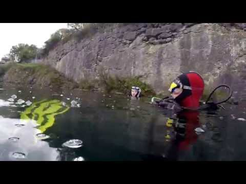 Capernwray September 2014 dive 2