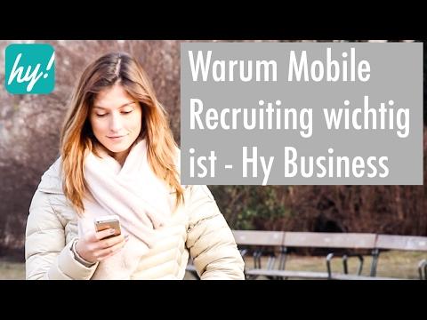 Warum Mobile Recruiting wichtig ist - Hokify Business