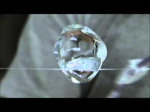 Эксперименты с водой на МКС. Вода в невесомости