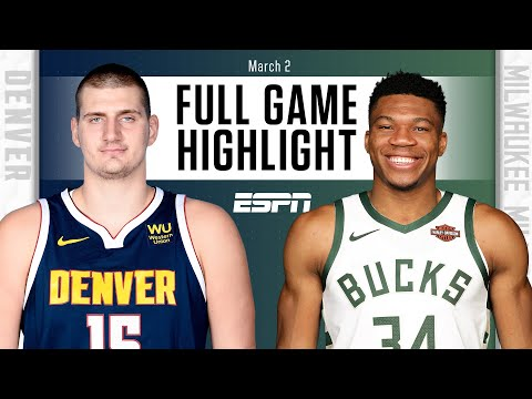 Denver Nuggets vs. Milwaukee Bucks [FULL GAME HIGHLIGHTS] | NBA on ESPN