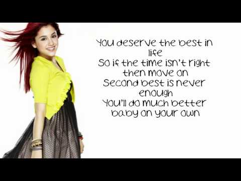 Ariana Grande - Born This Way/ Express Yourself Lyrics [HD]