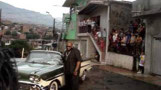 Rick Ross in Medellin, Colombia behind the scenes All I Really Want video shoot