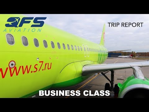 TRIP REPORT   S7 Airlines - A320 - Moscow (DME) to Genoa (GOA)   Business Class