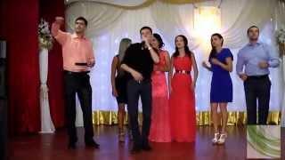 Поздравление на свадьбе. Песня для невесты и жениха. От друзей