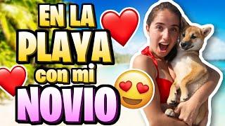 Fui a la PLAYA con mi NOVIO !! / Moni Rosales