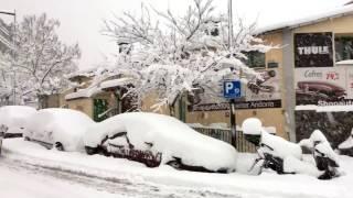 Día De Mucha Nieve.(Andorra)