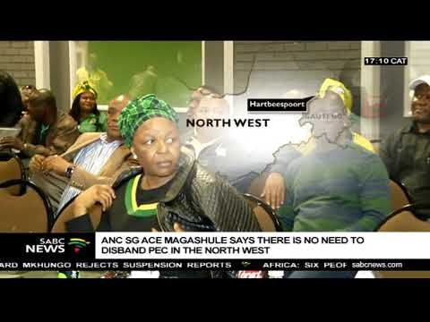 ANC SG says there is no need to disband PEC in the North West