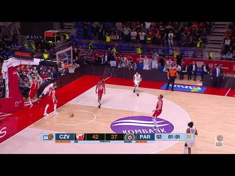 And Another REJECTION By William Mosley (Crvena Zvezda Mts - Partizan NIS, 3.2.2020)