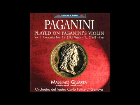 Played on Paganini's Violin Paganini Violin Concerto No  1 & 2
