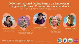 Download lagu 2020 International Online Forum on Empowering Indigenous Cultural Communities in a Pandemic