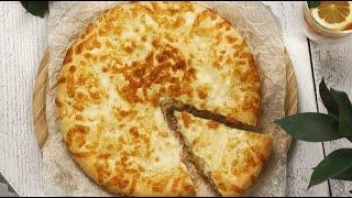 БЫСТРЫЙ Пирог с ВЕТЧИНОЙ и Сыром | Тесто на майонезе для пирога РЕЦЕПТ