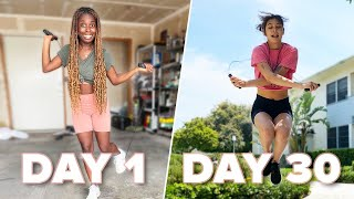 We Tried A 30-Day Jump Rope Challenge