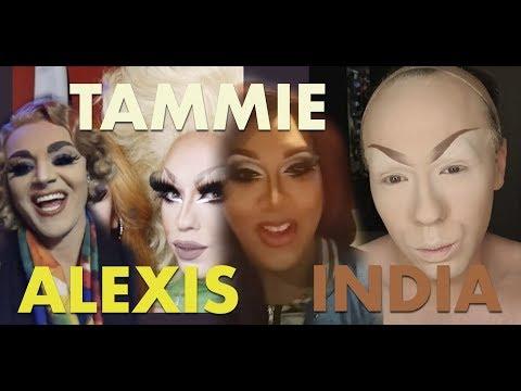 Aja, Alexis Matteo, Robbie Turner, Tammie Brown, India Ferrah, Acid Betty, Bob's Assistant