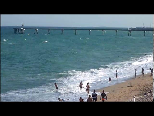Temporalet estival a la costa central - Badalona - Juliol 2017