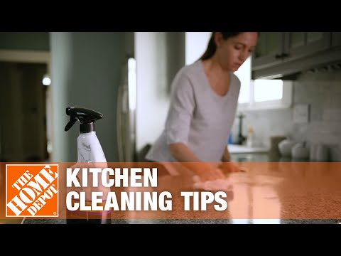 How to Clean a Kitchen | Kitchen Cleaning Tips | The Home Depot