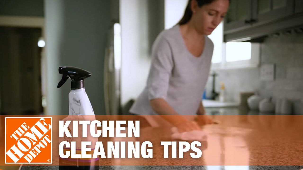 How to Clean a Kitchen | Kitchen Cleaning Tips - YouTube