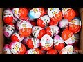 New Kinder Surprise Eggs Kinder Joy for Boys & Girls Unboxing The Best Learn Colors Play doh Molds