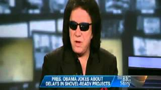 Gene Simmons on Obama, He dont like him either!