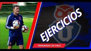Fernando De Paul - Entrenamientos