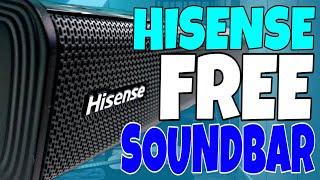 Hisense FREE soundbar Hisense Bluetooth soundbar HS205