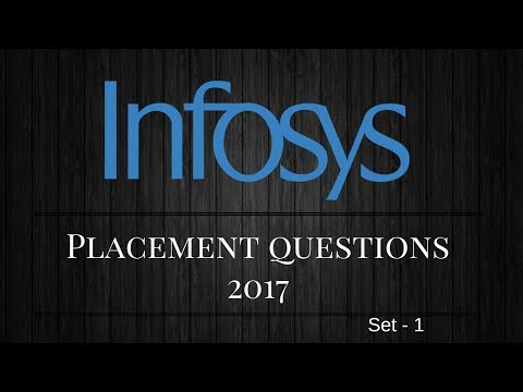 Infosys Placement Interview  Questions For Freshers/Beginers