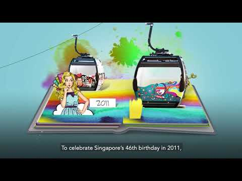 Singapore Cable Car Celebrates 45 Years of Scenic Views