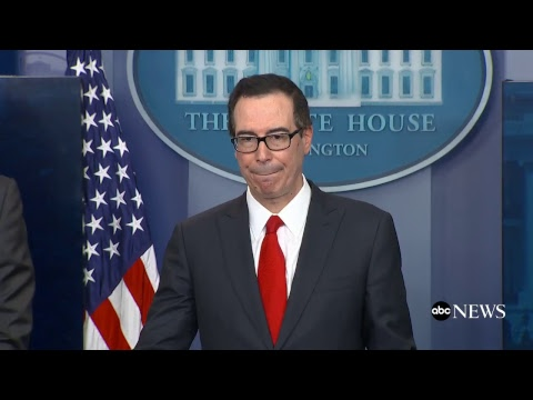 Trump's tax reform plan unveiled by Treasury Sec'y Steve Mnuchin, National Economic Dir. Gary Cohn