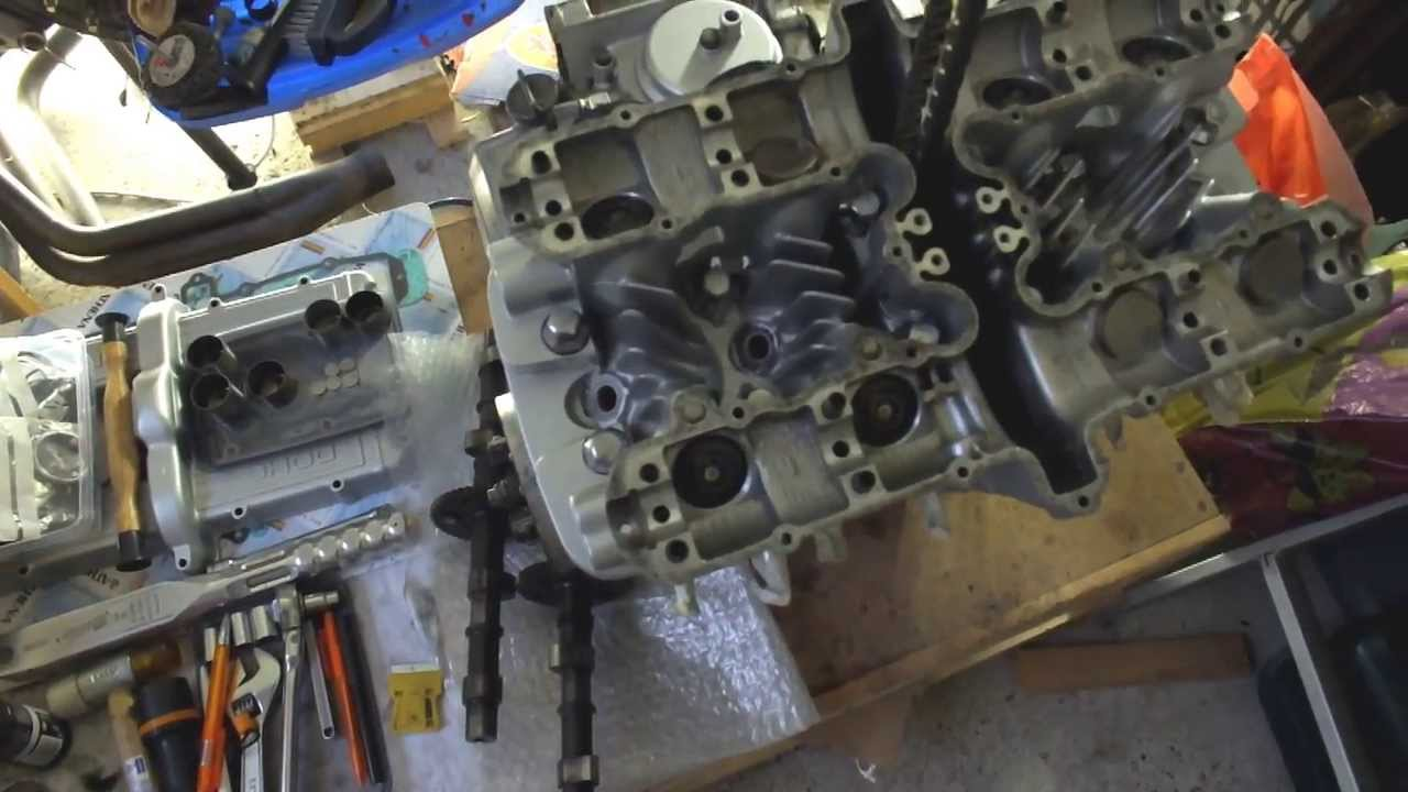 1982 Kawasaki 750 Ltd Rebuild Part 17 Shims Clearances Timing