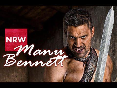 Manu Bennett #NRW Interview @RebelsSpartacon 2015 @manubennett #Spartacus #Crixus #Deathstroke