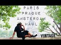 Vintage SHOPPING IN PARIS + WHAT I BOUGHT