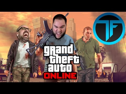 GRAND THEFT AWESOME - Grand Theft Auto V Online Gameplay