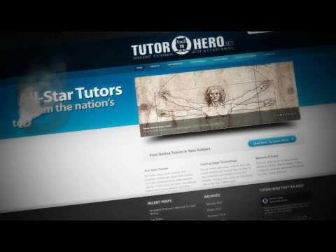 Tutor Hero Promo Video