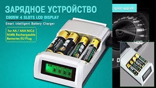 Зарядний пристрій C905W для AA AAA NiCd / NiMh | Battery Charger