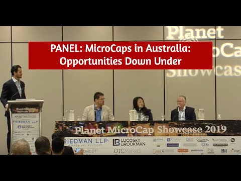 PANEL: MicroCaps In Australia: Opportunities Down Under | SNN Network