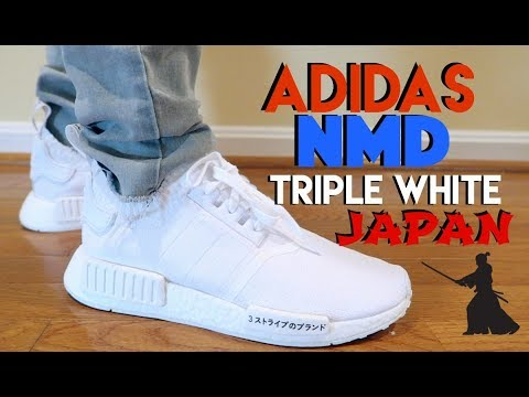 adidas nmd triple white japan pk review on feet. Black Bedroom Furniture Sets. Home Design Ideas