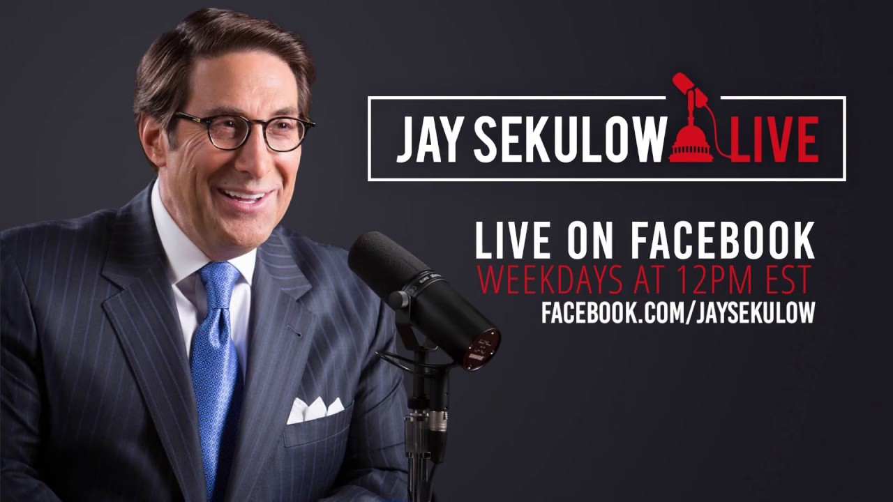 Official ACLJ Jay Sekulow Live: The President's Palestinian Peace Plan