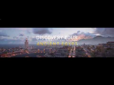 Assassin's Creed Origins Discovery Tour - Alexandria Planning of the City