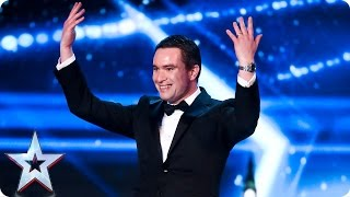 Mr. Blackpool Will Oldfield's act is a bit pointless | Auditions Week 5 | Britain's Got Talent 2017