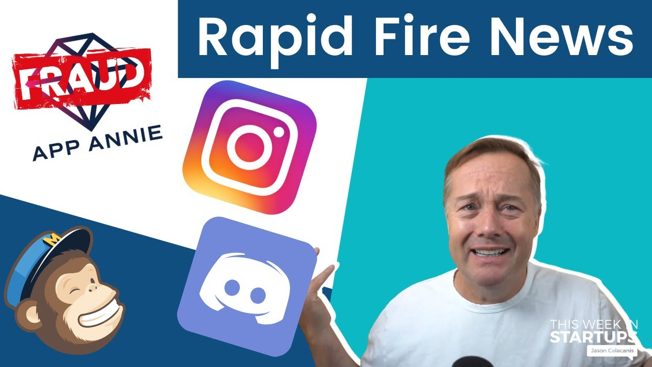 Download Rapid Fire News: App Annie fraud, Instagram's negative impact, Discord valued at $15B & more   E1284