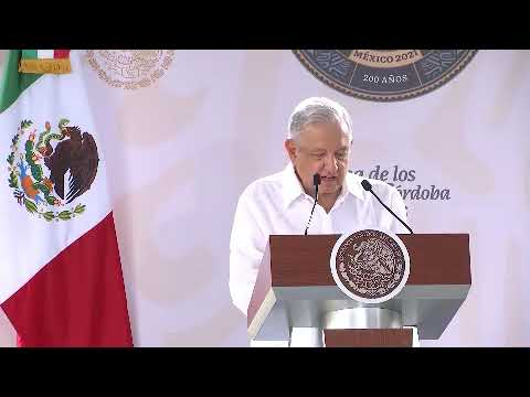 Presidente López Obrador encabeza la conmemoración de los 200 años del México Independiente