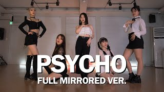 Download [R7] Red Velvet(레드벨벳) Psycho 안무 풀버전 거울모드 ::리얼모션 (REAL MOTION DANCE PRACTICE MIRRORED)