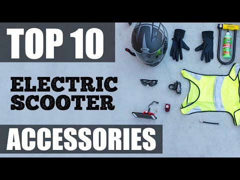 ESG's Top 10 Accessories For Electric Scooters