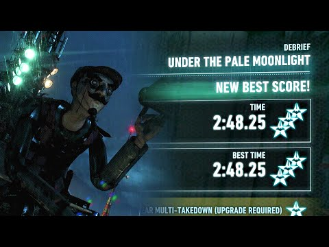 Batman Arkham Knight   AR Challenges · Predator - Under the Pale Moonlight · 3 Stars