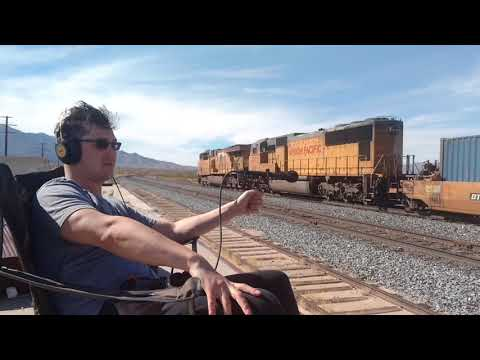 Westbound Union Pacific - Mojave National Preserve